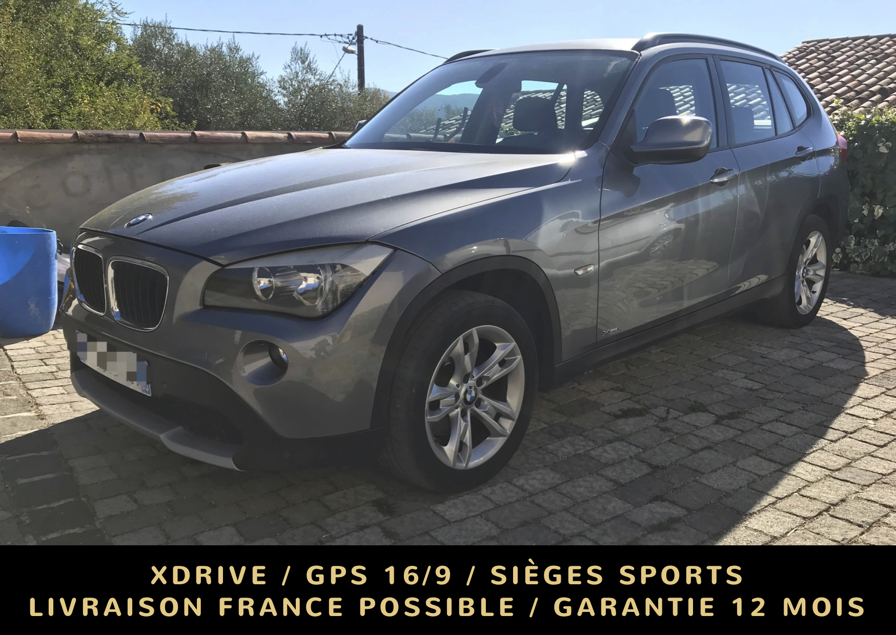 voiture bmw x1 xdrive 18d 143 ch confort occasion diesel 2012 103000 km 15390. Black Bedroom Furniture Sets. Home Design Ideas
